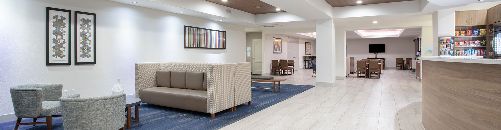 lobby area seating and front desk
